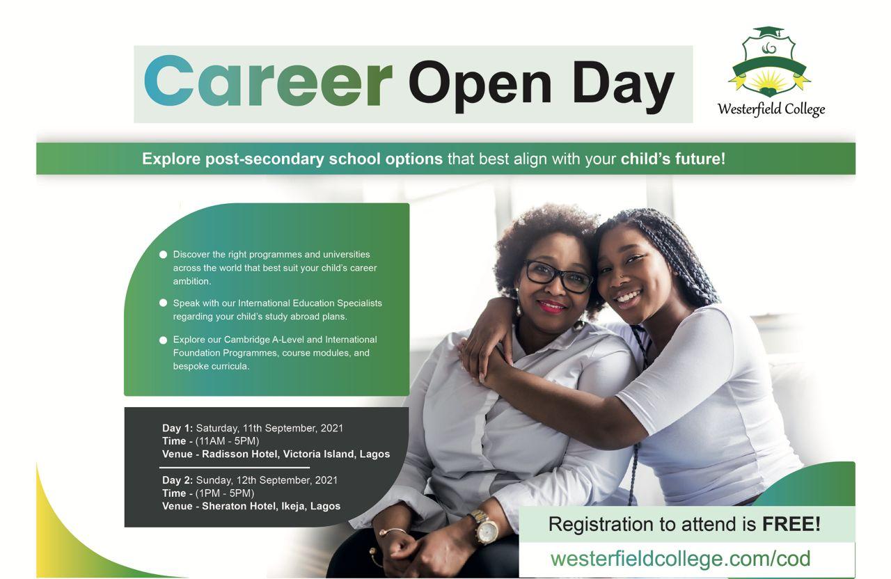 Westerfield Career Open Day