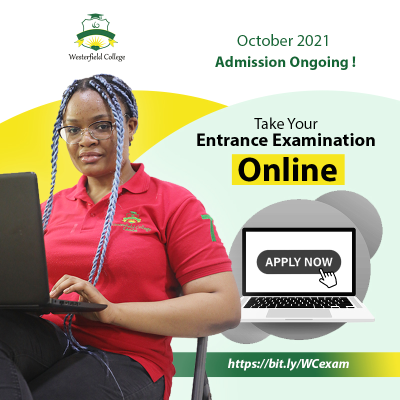 Westerfield College Entrance Examination